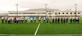 Delegação de Valença foi ao Futebol