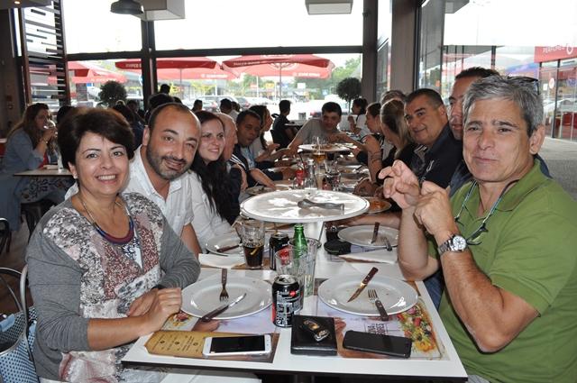 Almoço Equipa Boccia - Delegação Melgaço