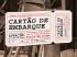 CARTÃO DE EMBARQUE - ESPECTÁCULO EM PONTE DE LIMA